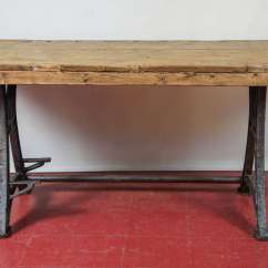 Kitchen Workbench Cheap Stuff Industrial Steel Island Table At 1stdibs Rustic Country Top With French Base Can Be Used As Work