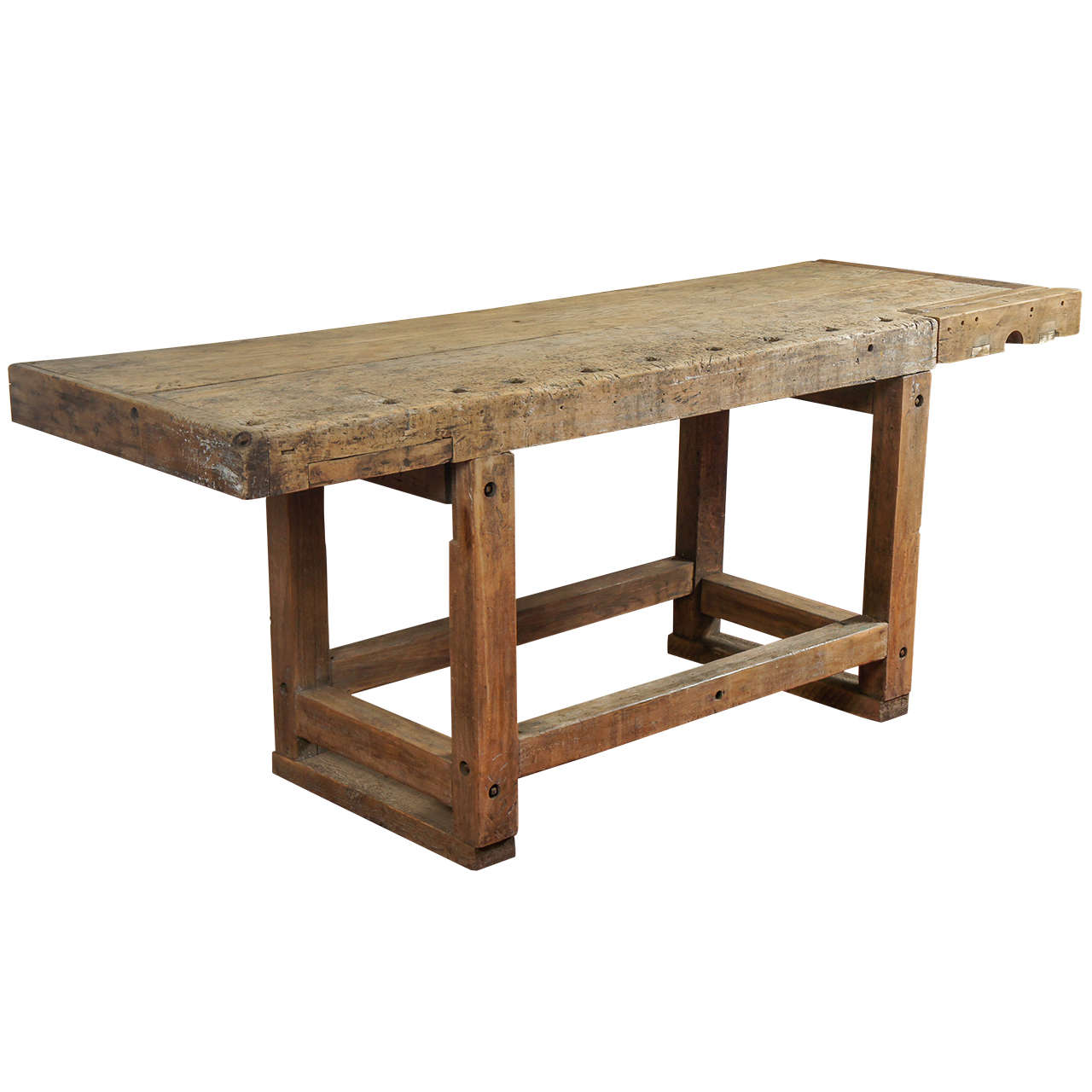 kitchen workbench traveling industrial island table at 1stdibs for sale