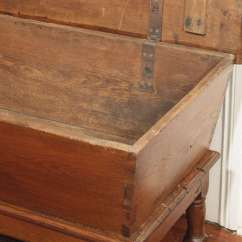 French Style Kitchen Furniture Online Planner Antique Kneading Dough Trough Or Box For Sale At ...