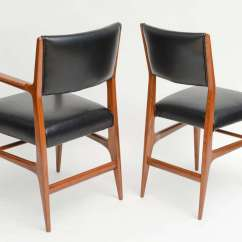 Italian Designer Dining Chairs Home Depot Lawn Chair Fine Set Of 12 Modern Gio Ponti For