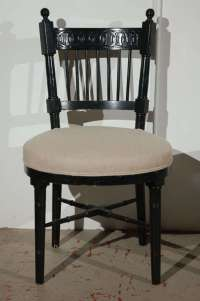 Pair of Vintage Gothic Inspired Chairs at 1stdibs