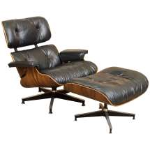 Eames Rosewood Lounge Chair 670 And Ottoman 671 Herman