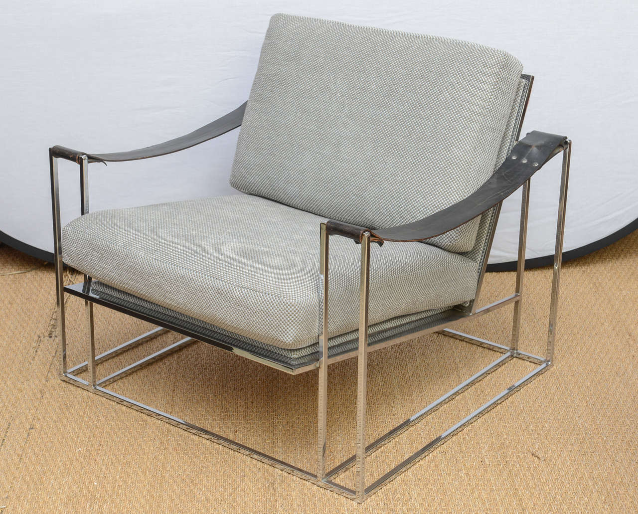 Floating Chairs Milo Baughman Floating Lounge Chair Pair Circa 1972 At