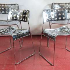 Easy Chair Nadir Steel Chrome Library Lounge Chairs Rodney Kinsman Omkstak At 1stdibs