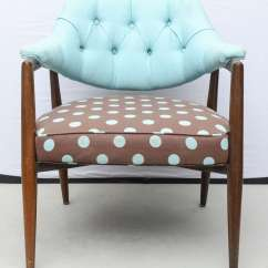 Blue Dot Chairs Lunchroom Canada 4 Walnut Upholstered Arm Usa 1960 For Sale At 1stdibs
