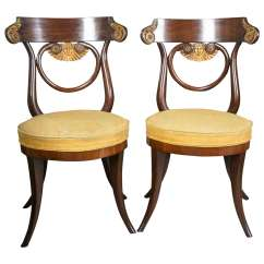 Hickory Chair Louis Xvi Casters For Chairs On Carpet Uk Pair Of Austrian Side Sale At 1stdibs