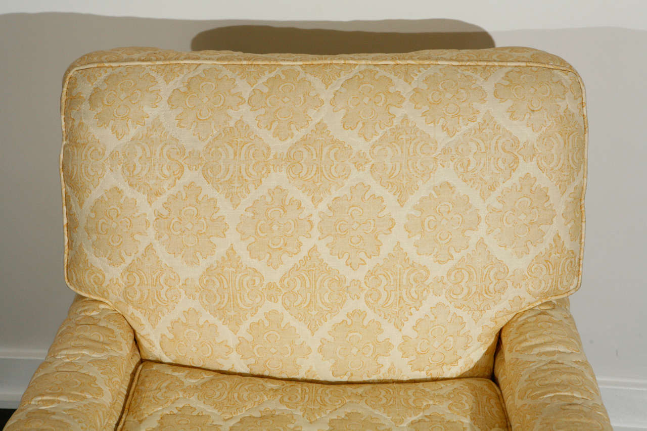 quilted swivel chair types of rocking chairs pair william haines quotseniah quot in original