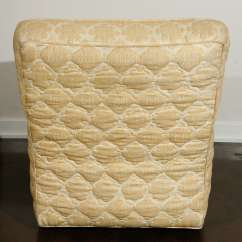 Quilted Swivel Chair Plastic Seat Covers For Kitchen Chairs Pair Of William Haines Quotseniah Quot In Original