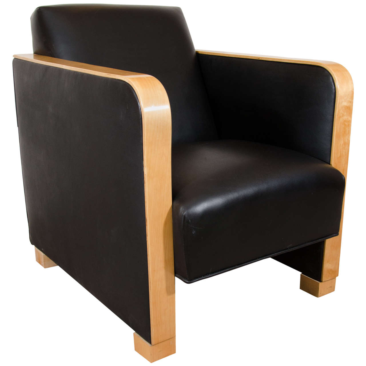 art deco club chairs leather chair cover rentals louisville ky in black motorcycle for sale