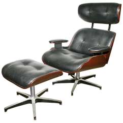 Selig Plycraft Lounge Chair Parts Plastic Mat And Ottoman In The Eames Style By At