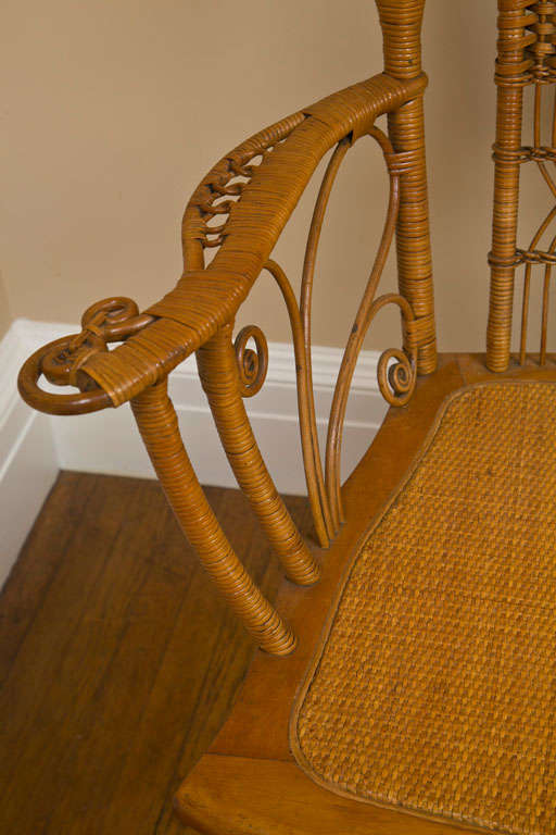 teak sofa table mattress for antique victorian wicker parlor set sale at 1stdibs