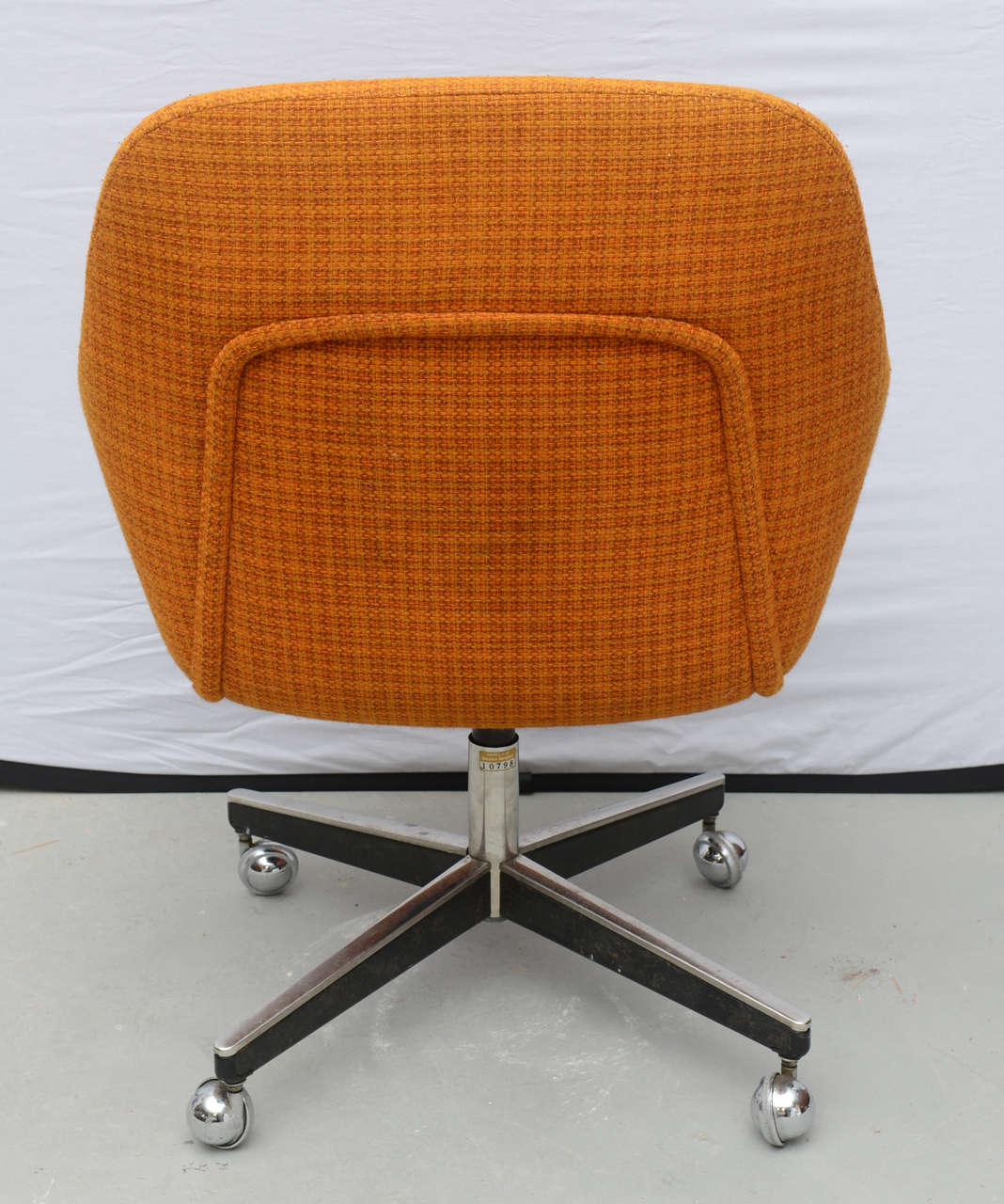 Roller Chairs Max Pearson For Knoll Oversized Roller Chairs 1970s At