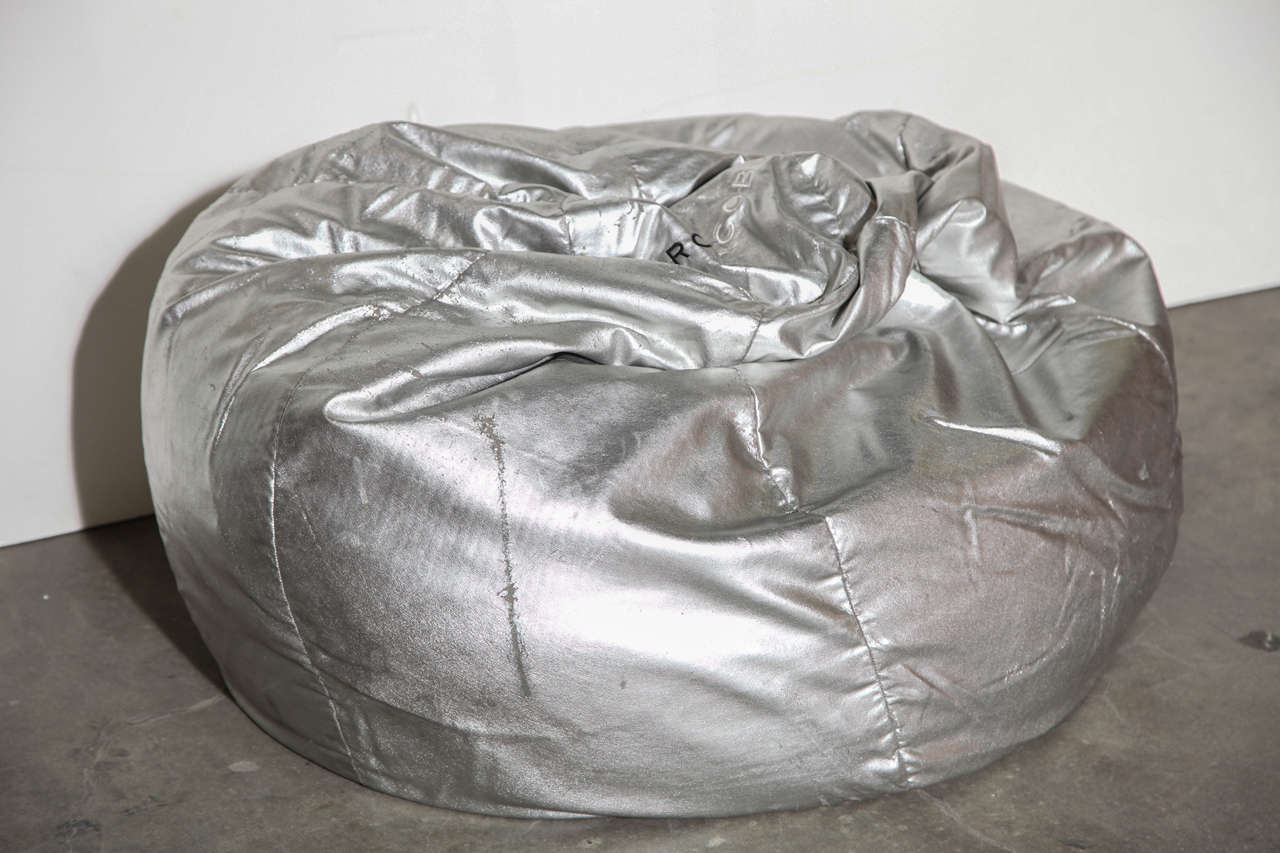Ll Bean Bean Bag Chair Marc Jacobs Silver Leather Bean Bag At 1stdibs