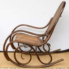 Vintage Bentwood Chairs Accent At Target Thonet Rocking Chair 1stdibs