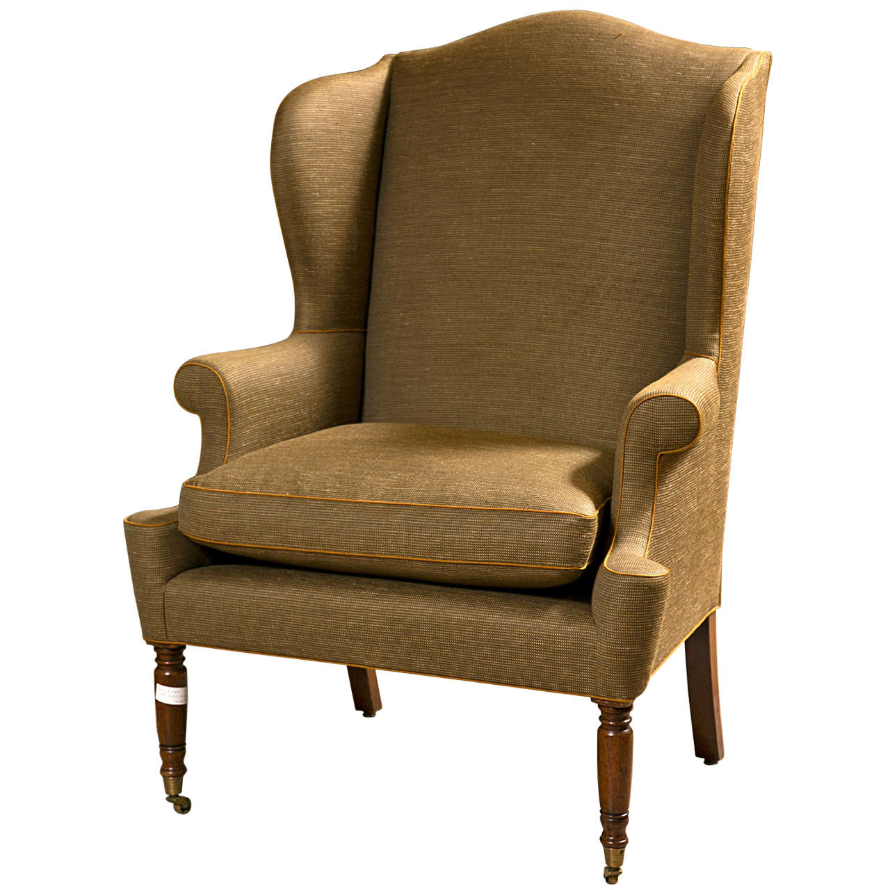 Used Wingback Chairs American Wingback Bergere Chair For Sale At 1stdibs