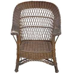 Antique Wicker Chairs Toddler Chair Seat Belt At 1stdibs For Sale