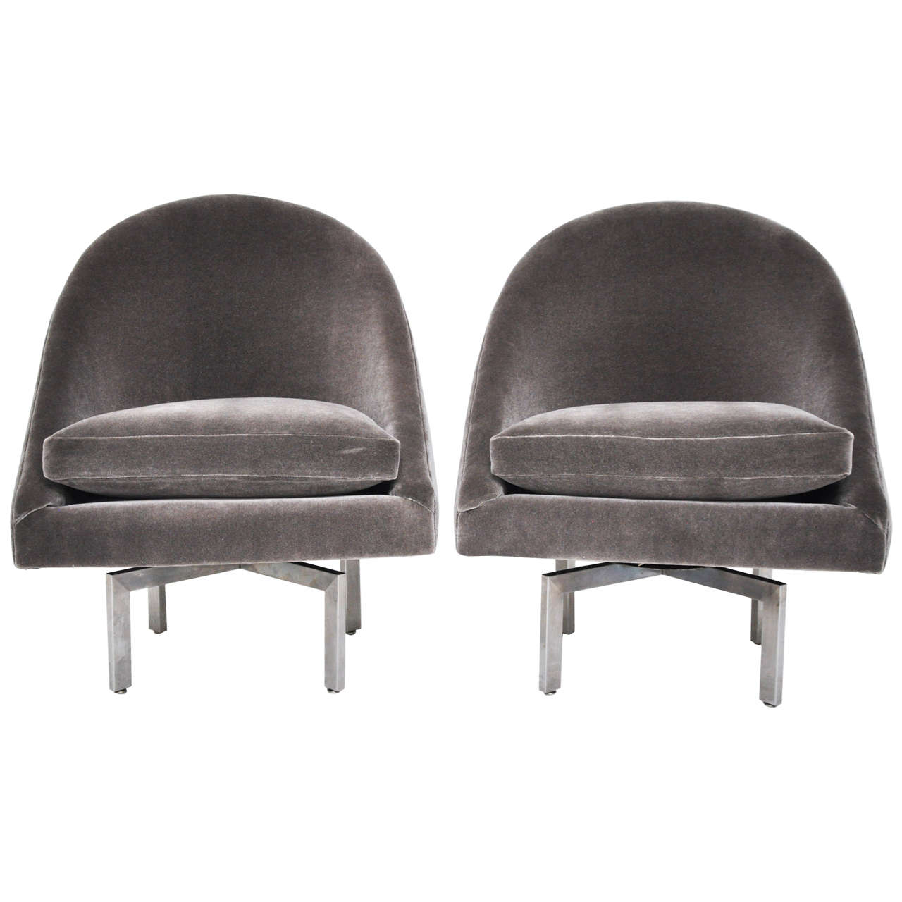 swivel chair mid century bungee chairs target at 1stdibs