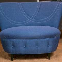 Oversized Upholstered Chair Dental Parts Description Mid Century Gilbert Rhode At