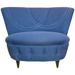 Oversized Upholstered Chair Posture Care Adelaide Mid Century Gilbert Rhode At