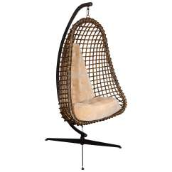 Hanging Chairs For Sale Wheelchair Unicode Rare Outstanding Mid Century Modern Cocoon Chair