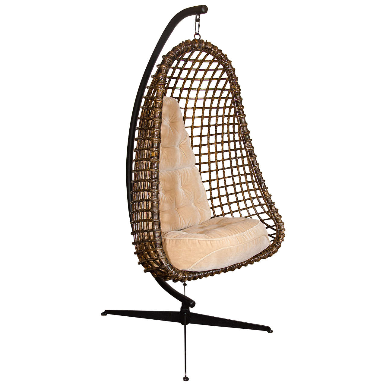 Cocoon Chair Rare Outstanding Mid Century Modern Hanging Cocoon Chair