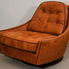 Swivel Chairs For Sale Most Expensive Chair Design Vintage Club And Ottoman At 1stdibs