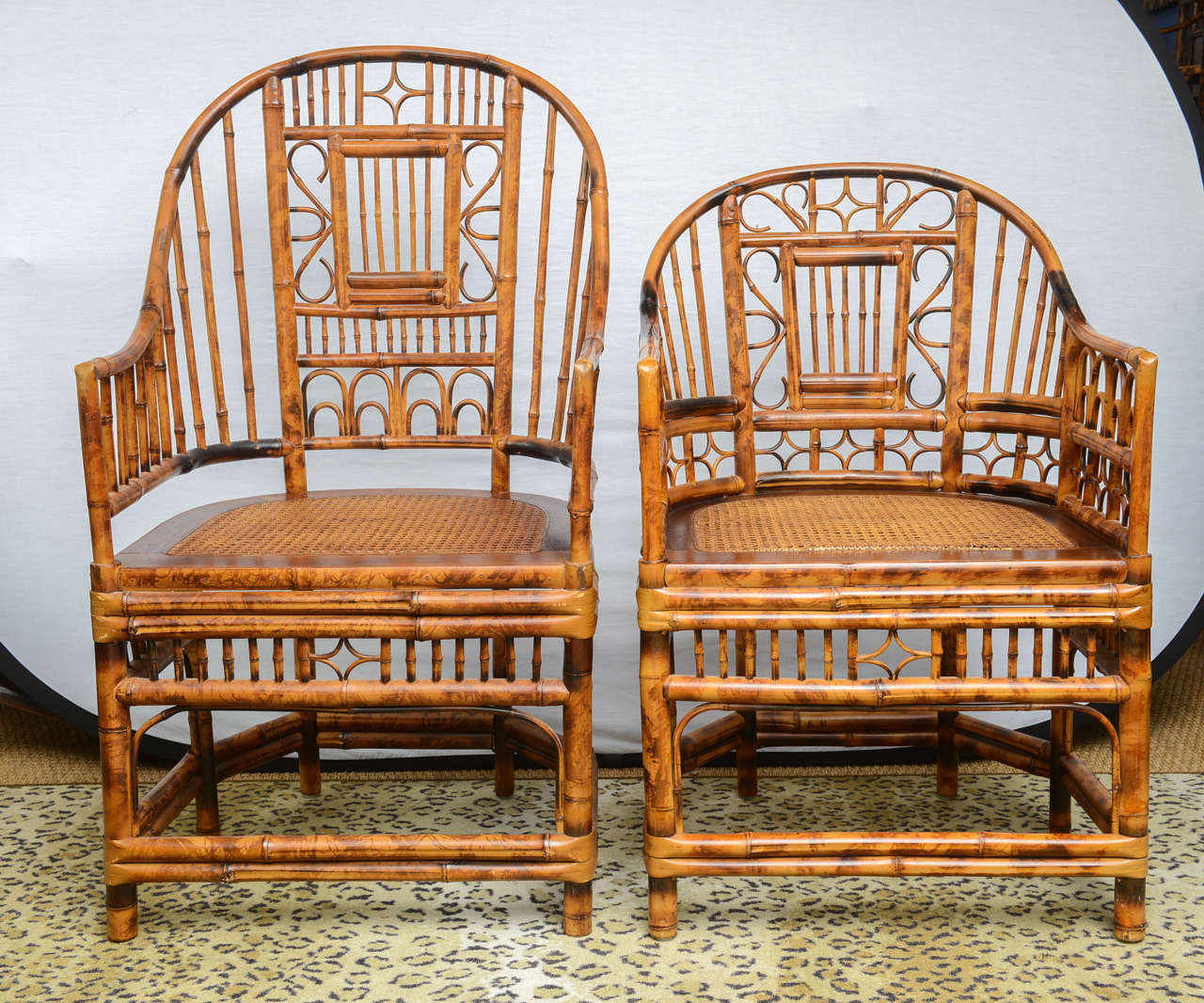 chinese chippendale chairs wishbone dining chair nz superb set of four bamboo vintage