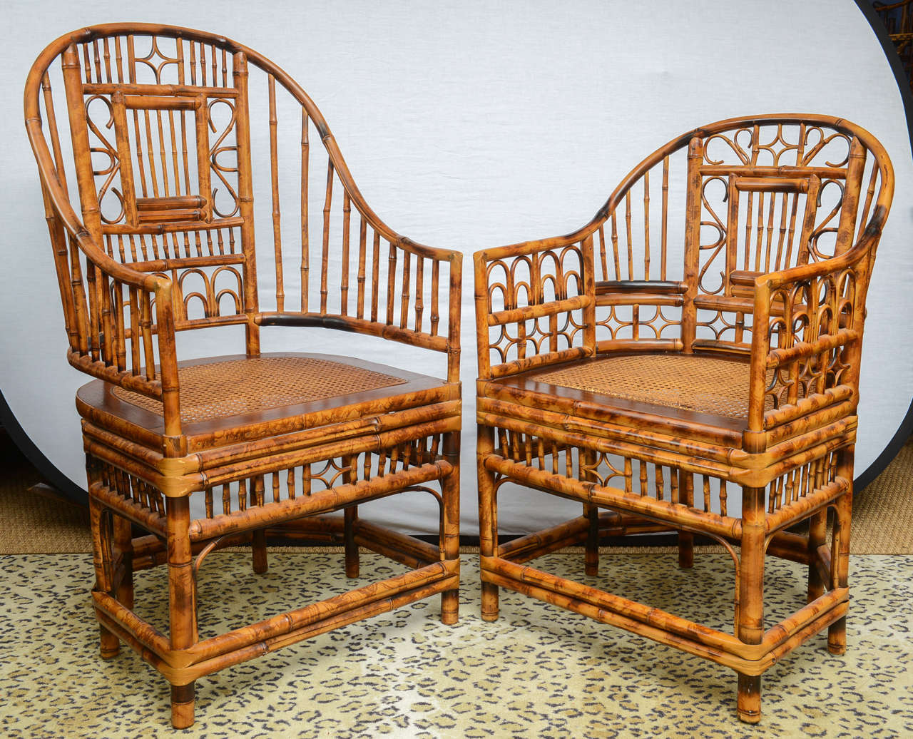 bamboo chairs for sale foldable table and outdoor superb set of four vintage chinese chippendale