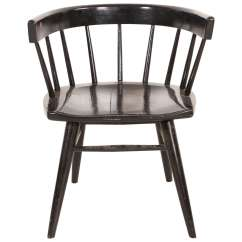 Black Spindle Chair Coastal Kitchen Table And Chairs Paul Mccobb Style Back Three