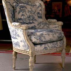 White Leather Wingback Chair Revolving For Sale In Rawalpindi 19th C. Antique French Bergere At 1stdibs