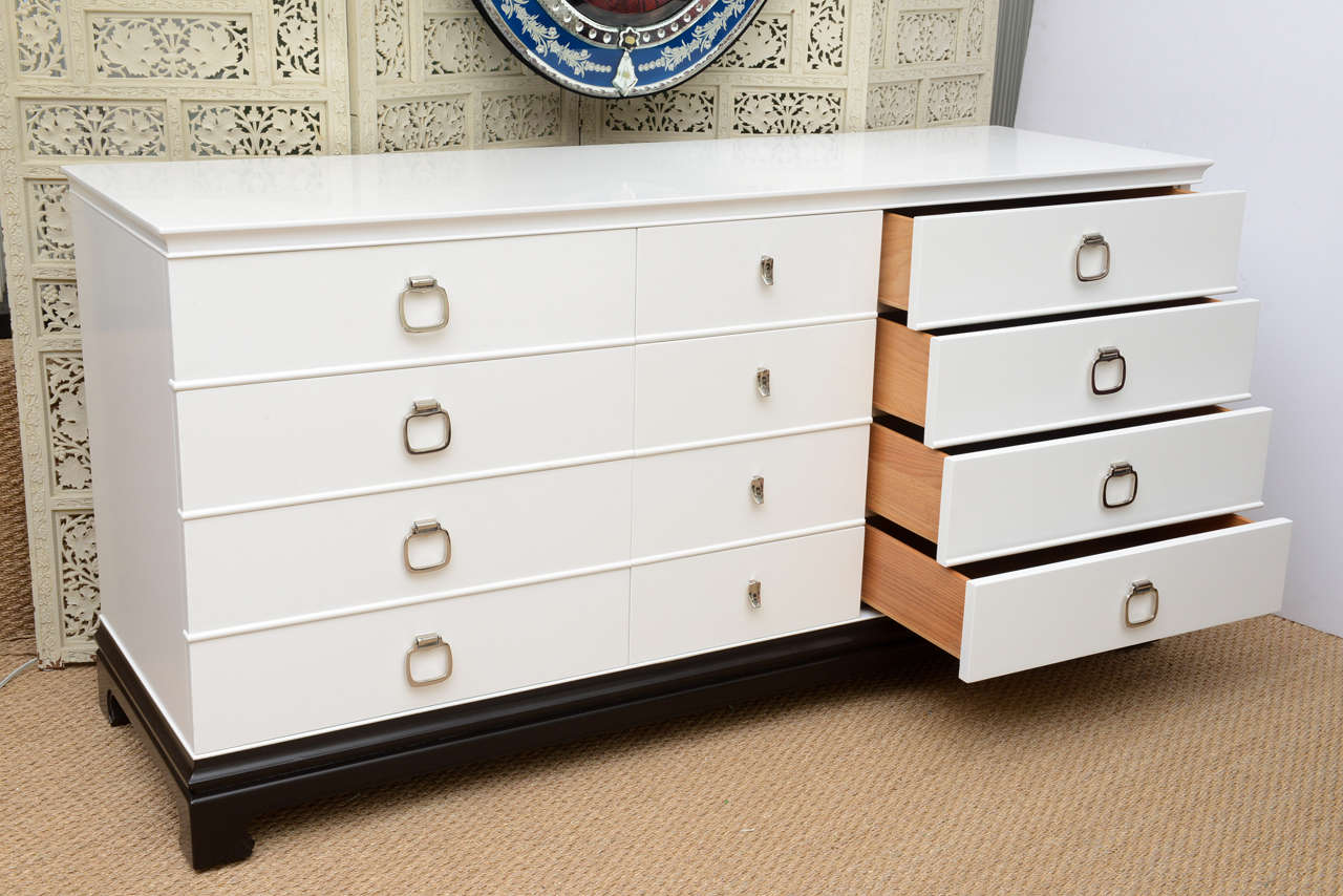 Asian Style 12 Drawer Dresser By RWAY At 1stdibs