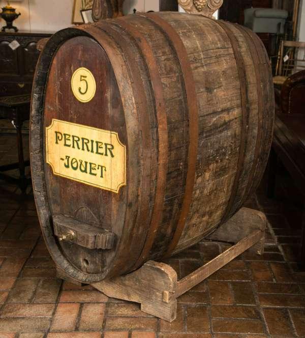 Antique Oval Wine Barrel 1stdibs
