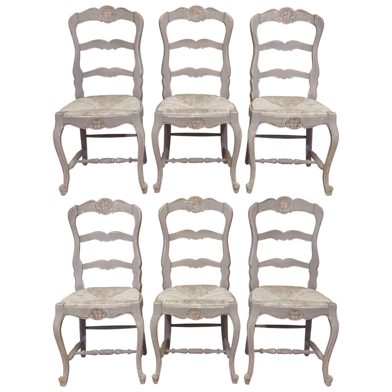 bistro style dining chairs hugo transport chair parts french louis xv painted at 1stdibs