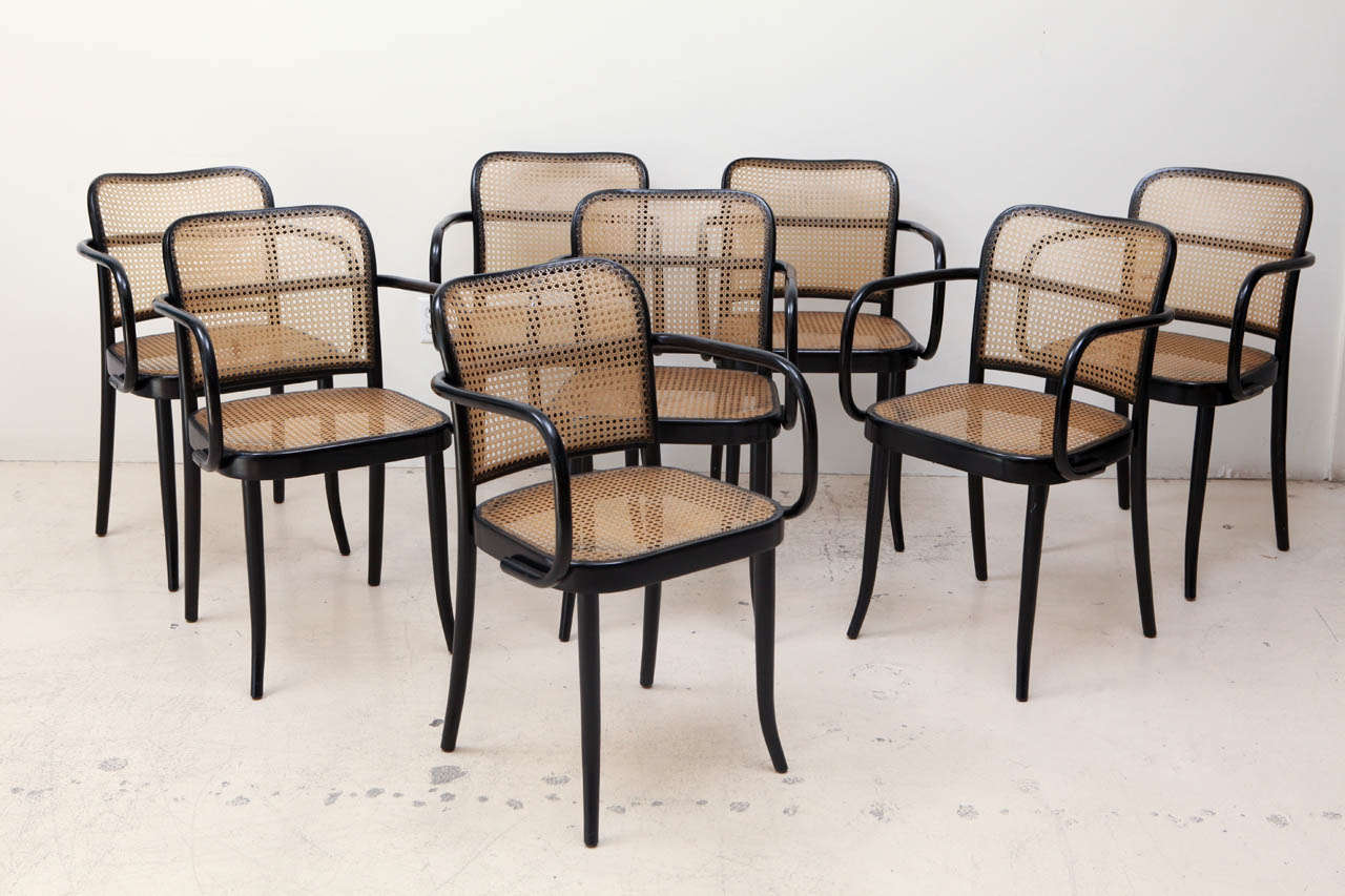 bentwood dining chair hair on hide desk set of 4 ebonized chairs by stendig at 1stdibs