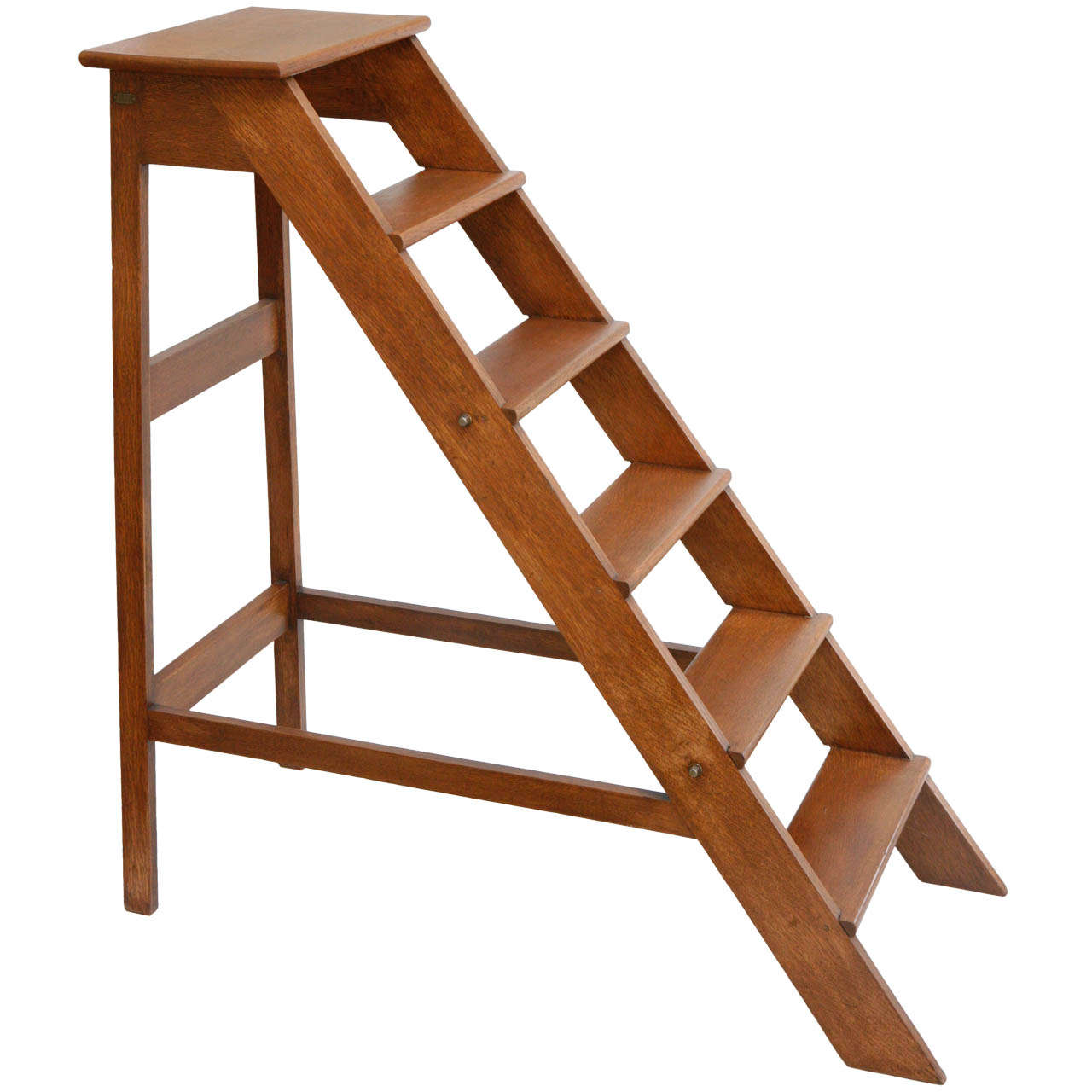 library chair ladder plans stool sofa vintage at 1stdibs
