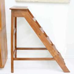 Library Chair Ladder Revolving Autocad Block Vintage At 1stdibs