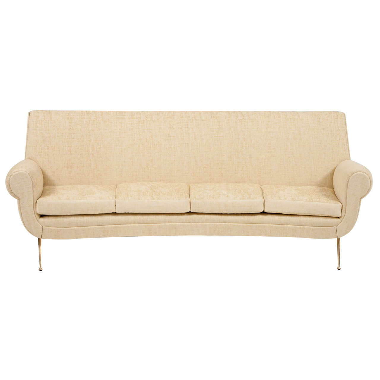 curved sofa set india conversation sectional italian at 1stdibs