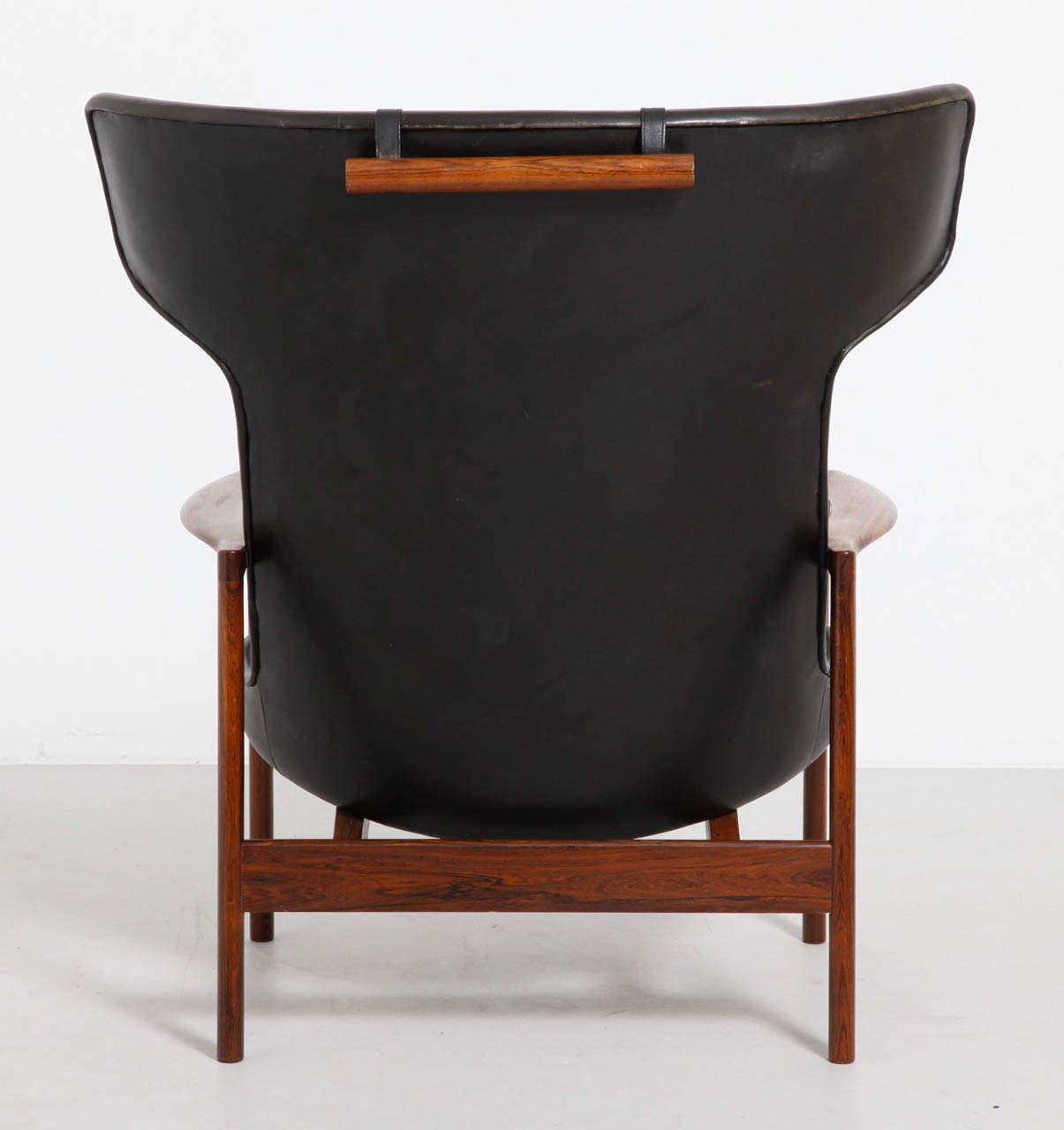 large wingback chair ikea office markus wing back lounge designed by ib kofod larsen