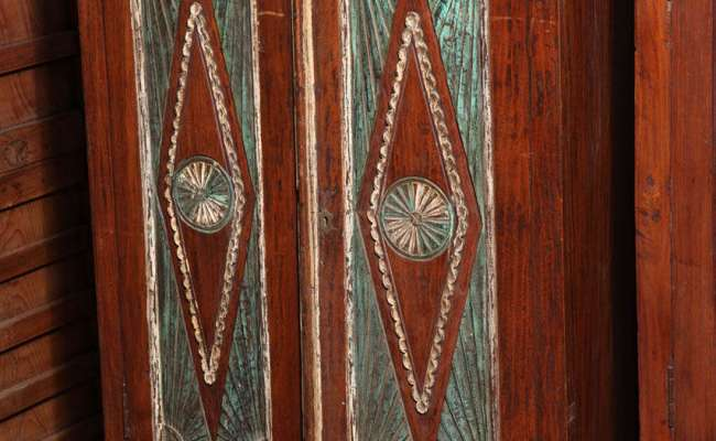 Antique Indonesian Teak Java Cabinet For Sale At 1stdibs