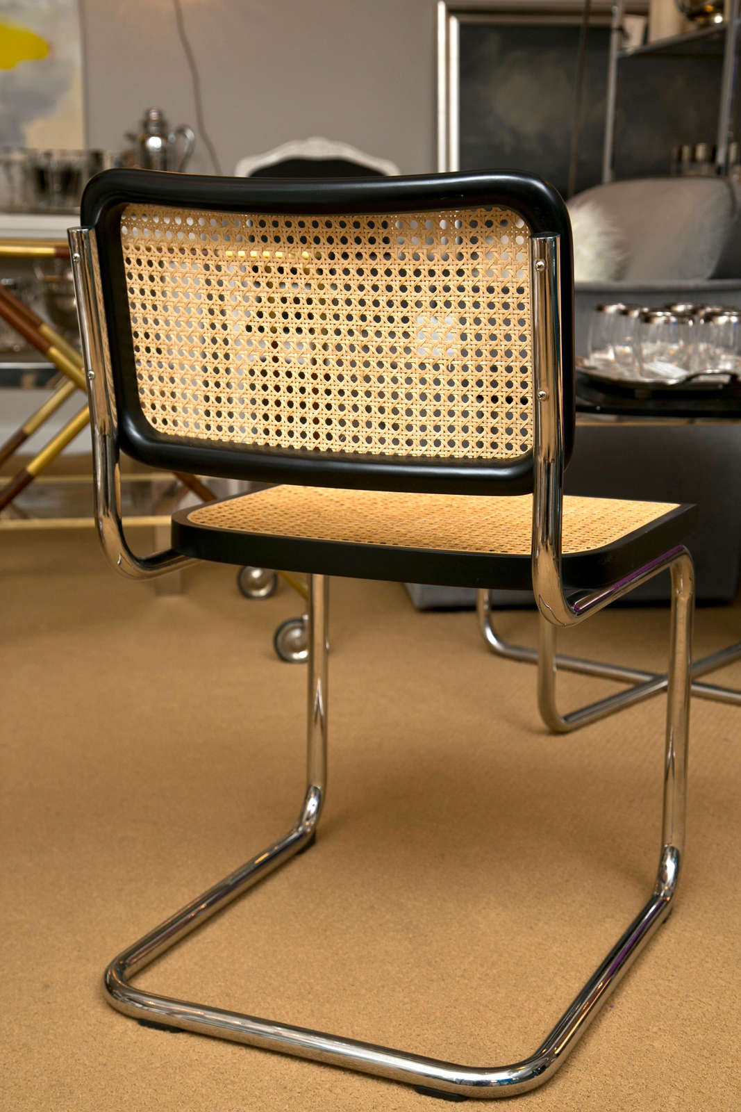 breuer chairs for sale gray leather dining cesca by marcel at 1stdibs
