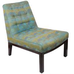 Brown Slipper Chair Lowes Pool Chairs By Edward Wormley For Dunbar Sale At 1stdibs