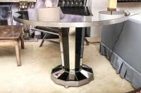 Maison Jansen Mirror and Glass Center Table at 1stdibs