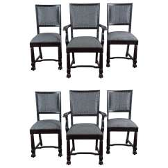Arts And Crafts Style Chair Dining Feet Protectors Mcintosh Chairs For Sale At 1stdibs