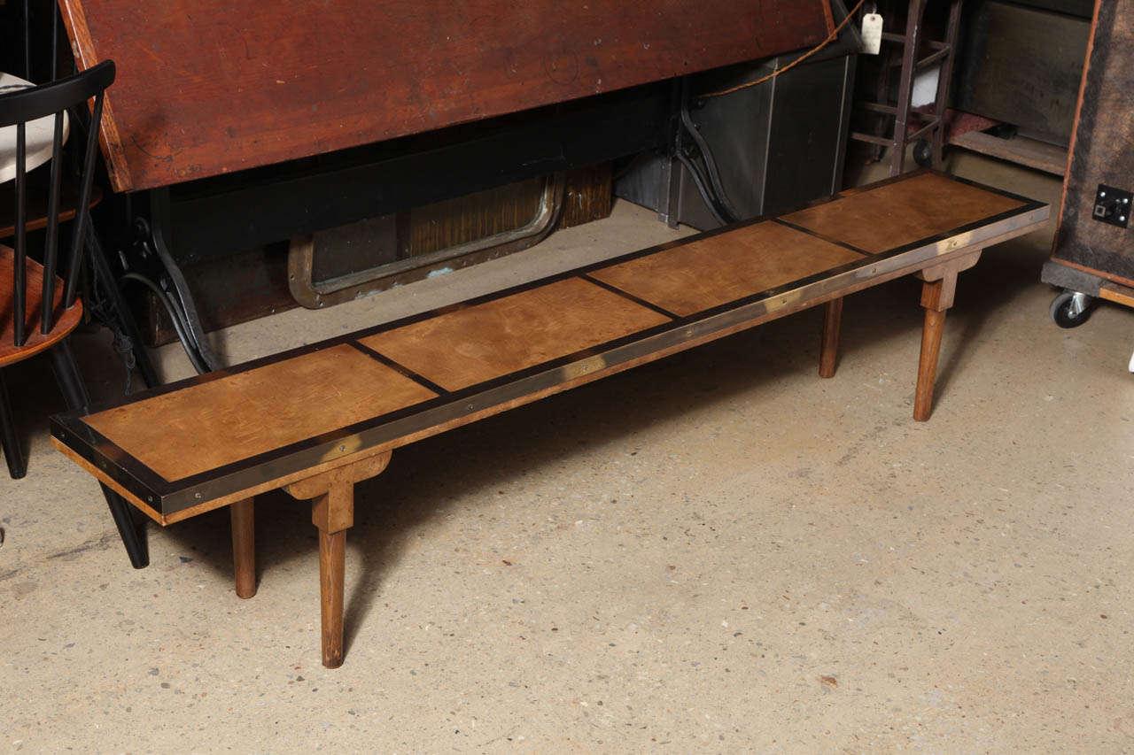 narrow mastercraft coffee table