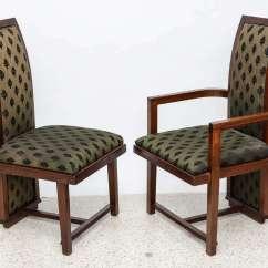 Frank Lloyd Wright Chairs Lazy Boy Recliner Chair Covers Australia Set Of 12 Taliesin Mahogany Dining