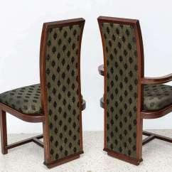 Frank Lloyd Wright Chairs Hardwood Office Chair Mat Set Of 12 Taliesin Mahogany Dining