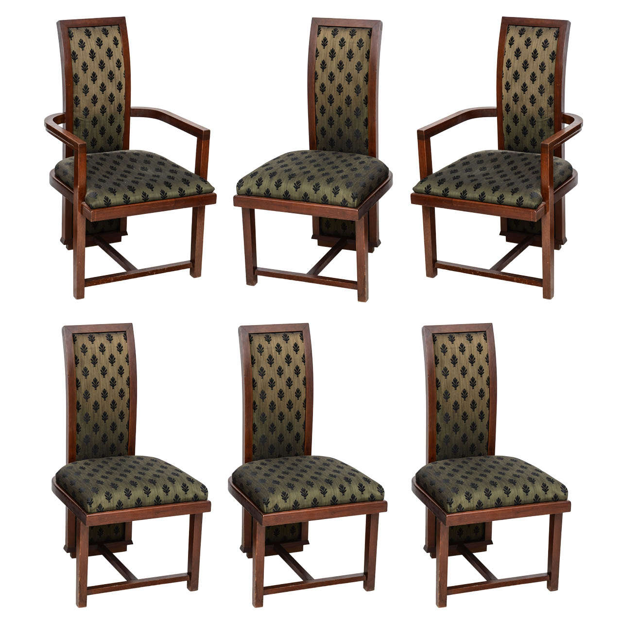 Frank Lloyd Wright Chairs Set Of 12 Frank Lloyd Wright Taliesin Mahogany Dining