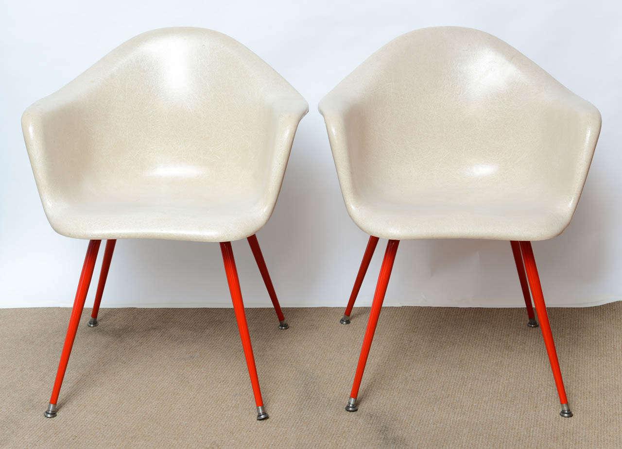 fiberglass shell chair sleeper ikea mid century vintage eames era arm chairs