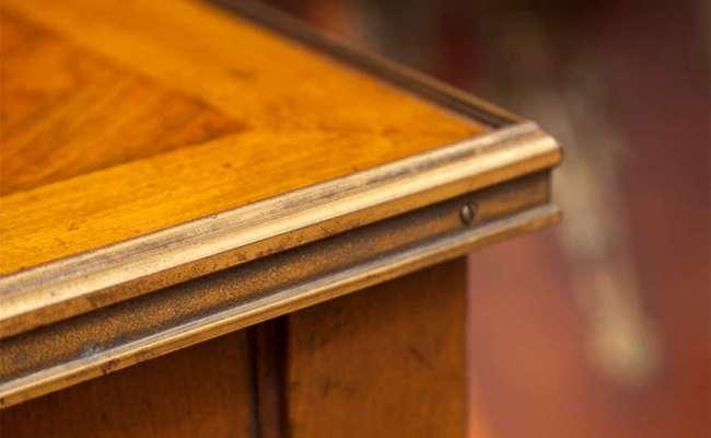 Vintage Baker Furniture Fruitwood Side Table At 1stdibs