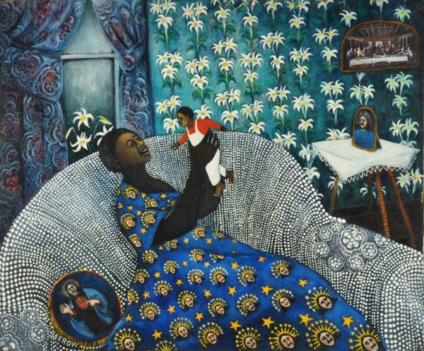 Lu Ann Barrow - Beloved Son Painting 1stdibs